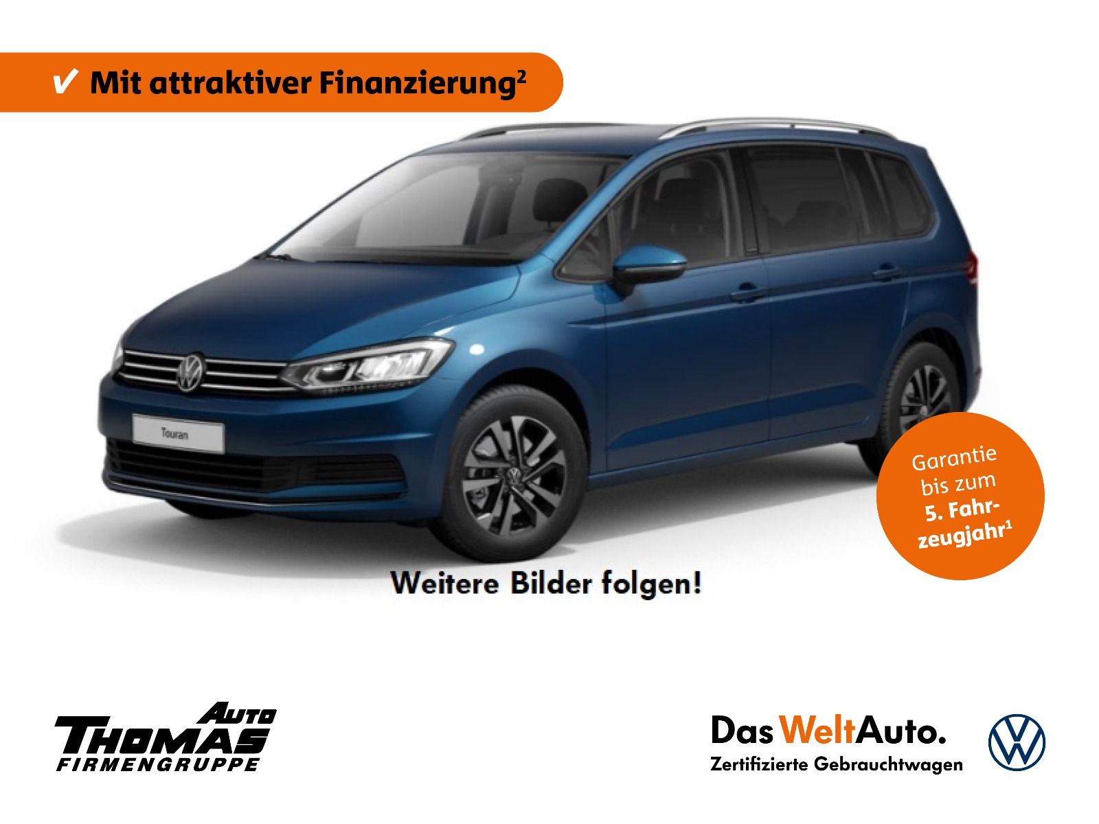 "Volkswagen Touran ""Comfortline"" 1.5 TSI LED+NAVI+7SITZER, Jahr 2020, petrol"