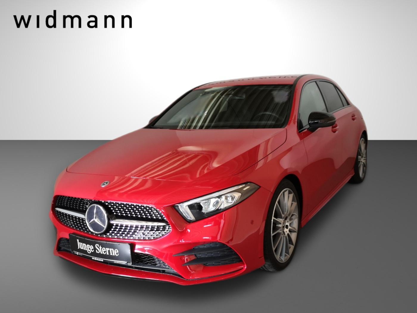 Mercedes-Benz A 250 *AMG*LED*Sitzheizg*MBUX*7G-DCT*Night*DAB*, Jahr 2018, Benzin