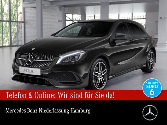 Mercedes-Benz A 180 AMG LED Night Kamera Navi PTS Sitzh Temp, Jahr 2017, Benzin