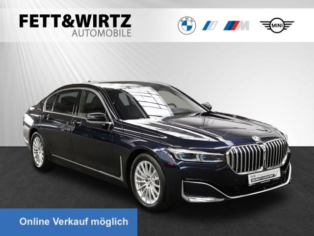 BMW 745Le xDrive TV+ Laser Pano HUD Klimasitze+Mass., Jahr 2019, Hybrid