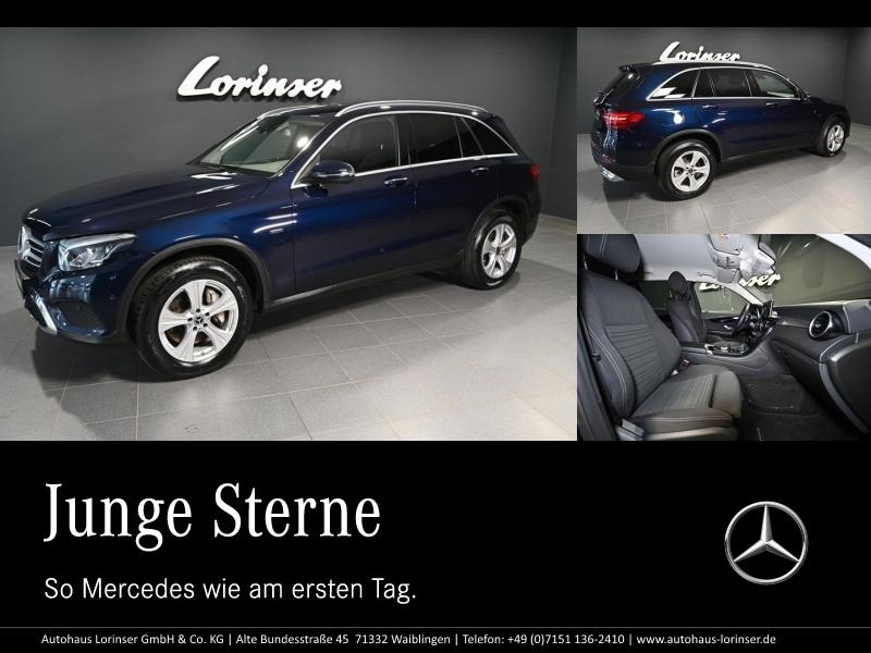 Mercedes-Benz GLC 350 e 4M DISTRO/NAVI/LED/PARKTRONIC/RFK/SHZ, Jahr 2018, Hybrid