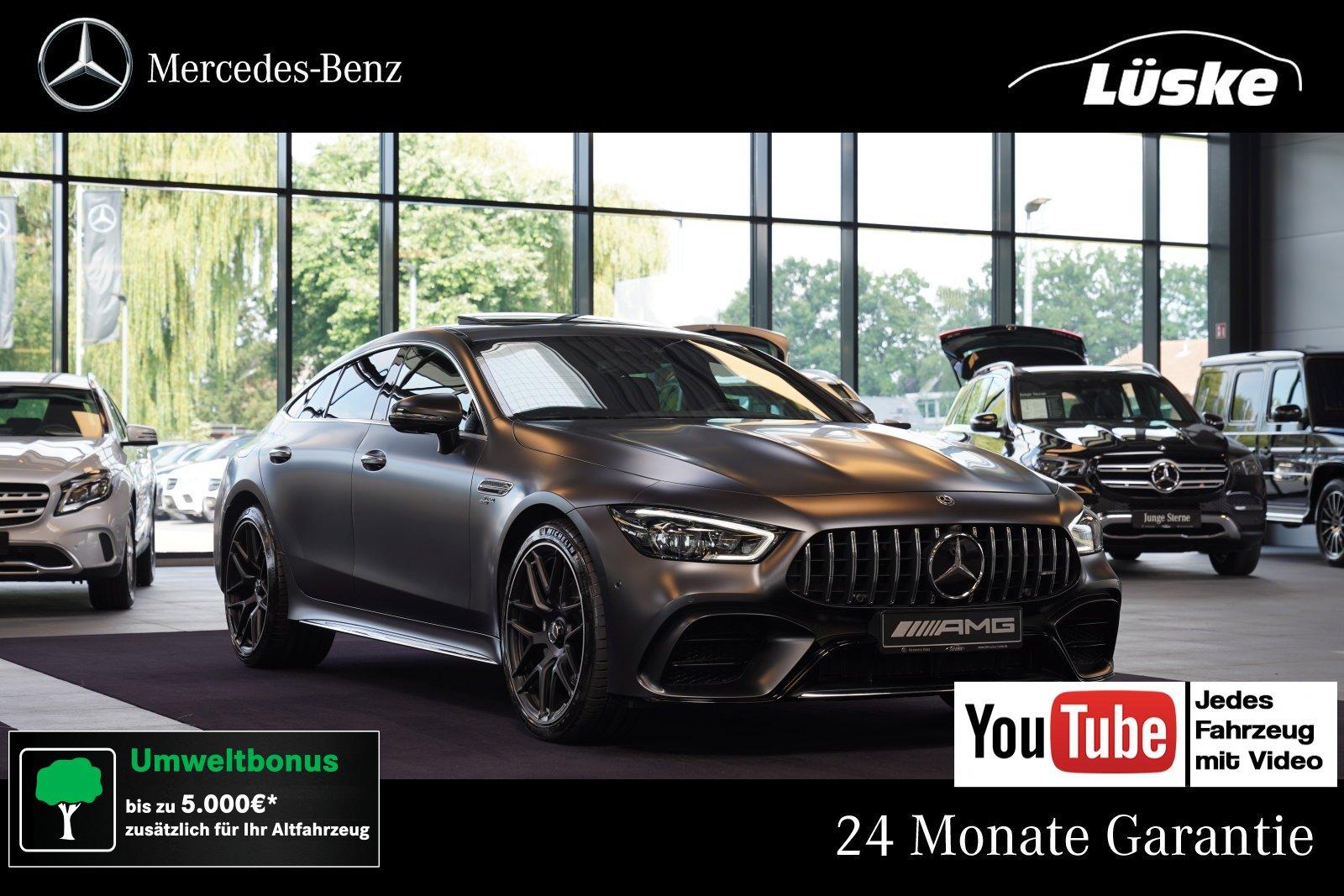 Mercedes-Benz AMG GT 43 4MATIC+ MAGNO Massage Kreuzspeiche 360, Jahr 2019, Benzin