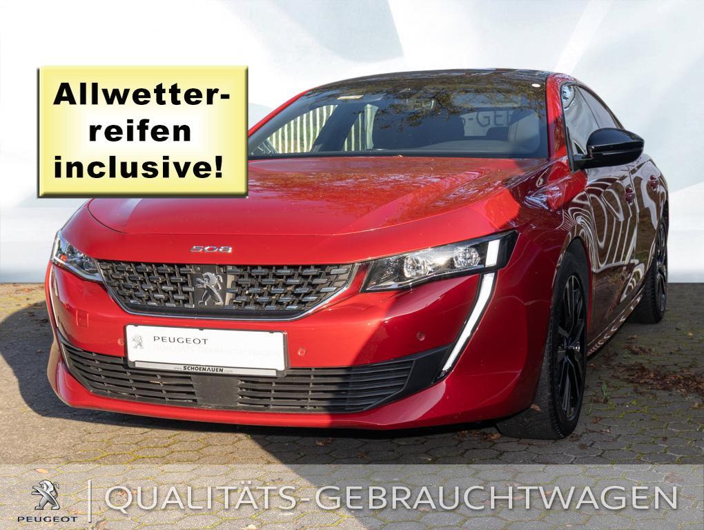 Peugeot 508 PT 225 AUT GT+PGD+ACC+PDC+RFK+TWA+NAV+GRA/B+, Jahr 2019, Benzin