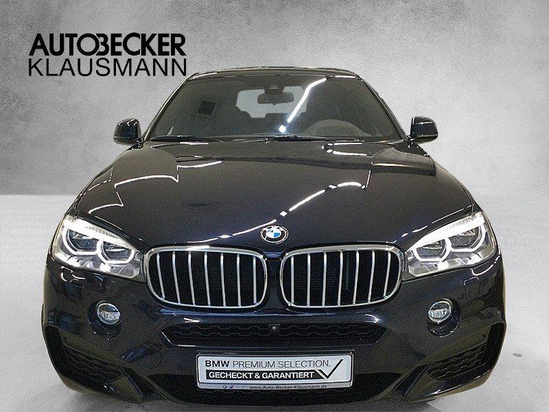 BMW X6 xDrive40d M Sport Navi Prof Head Up Glasdach Kamera DAB, Jahr 2017, Diesel