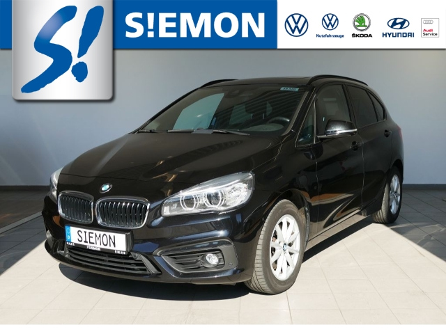 BMW 220 Active Tourer d AHK LED Navi Pano Tempomat, Jahr 2015, Diesel