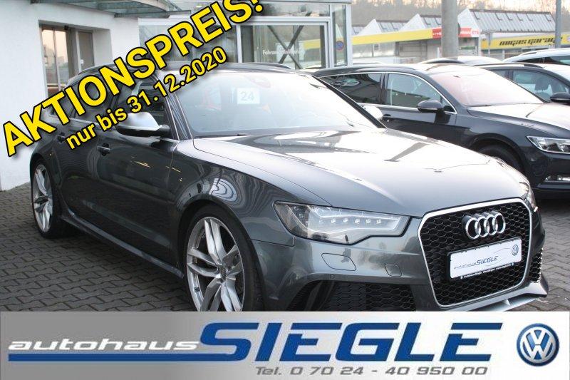 Audi RS6 Avant 4.0 TFSI Pano*LED*21Zoll*Dynamikpaket*Kamera, Jahr 2014, Benzin