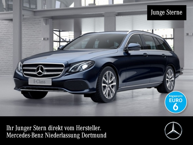 Mercedes-Benz E 300 d T Avantgarde LED AHK Kamera PTS Easy-Pack, Jahr 2018, Diesel