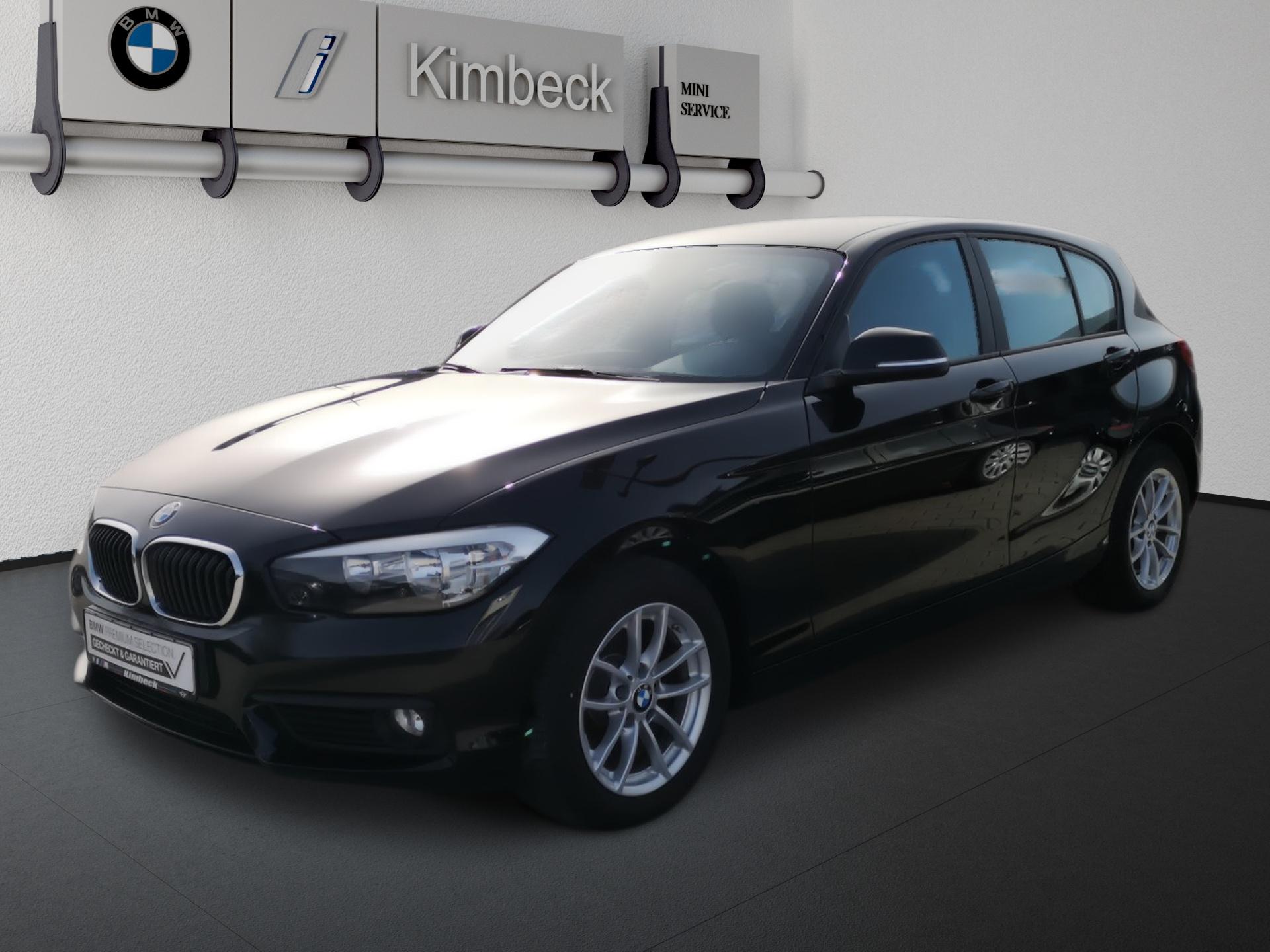 BMW 118i Advantage Klima PDC Sitzh. 2J Garantie, Jahr 2017, Benzin