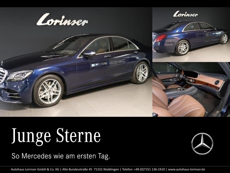 Mercedes-Benz S 560 4M AMG/COMAND/LED/MEMORY/SERVOSCHL./360°, Jahr 2018, Benzin