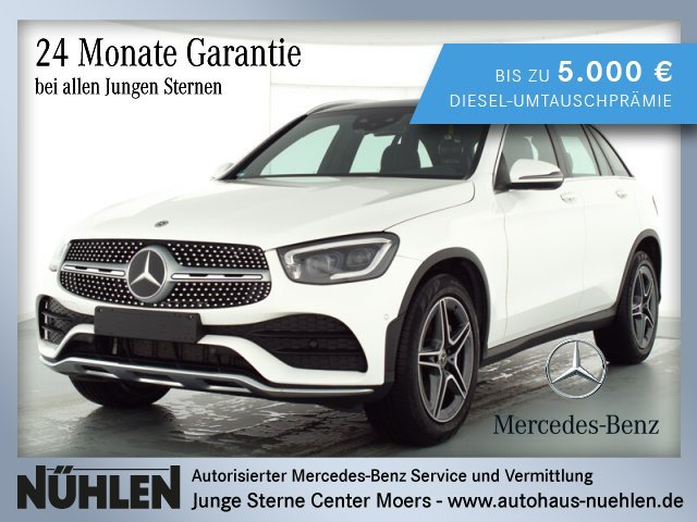 Mercedes-Benz GLC 200 4MATIC AMG Line Exterieur+LED+Distronic, Jahr 2019, Benzin