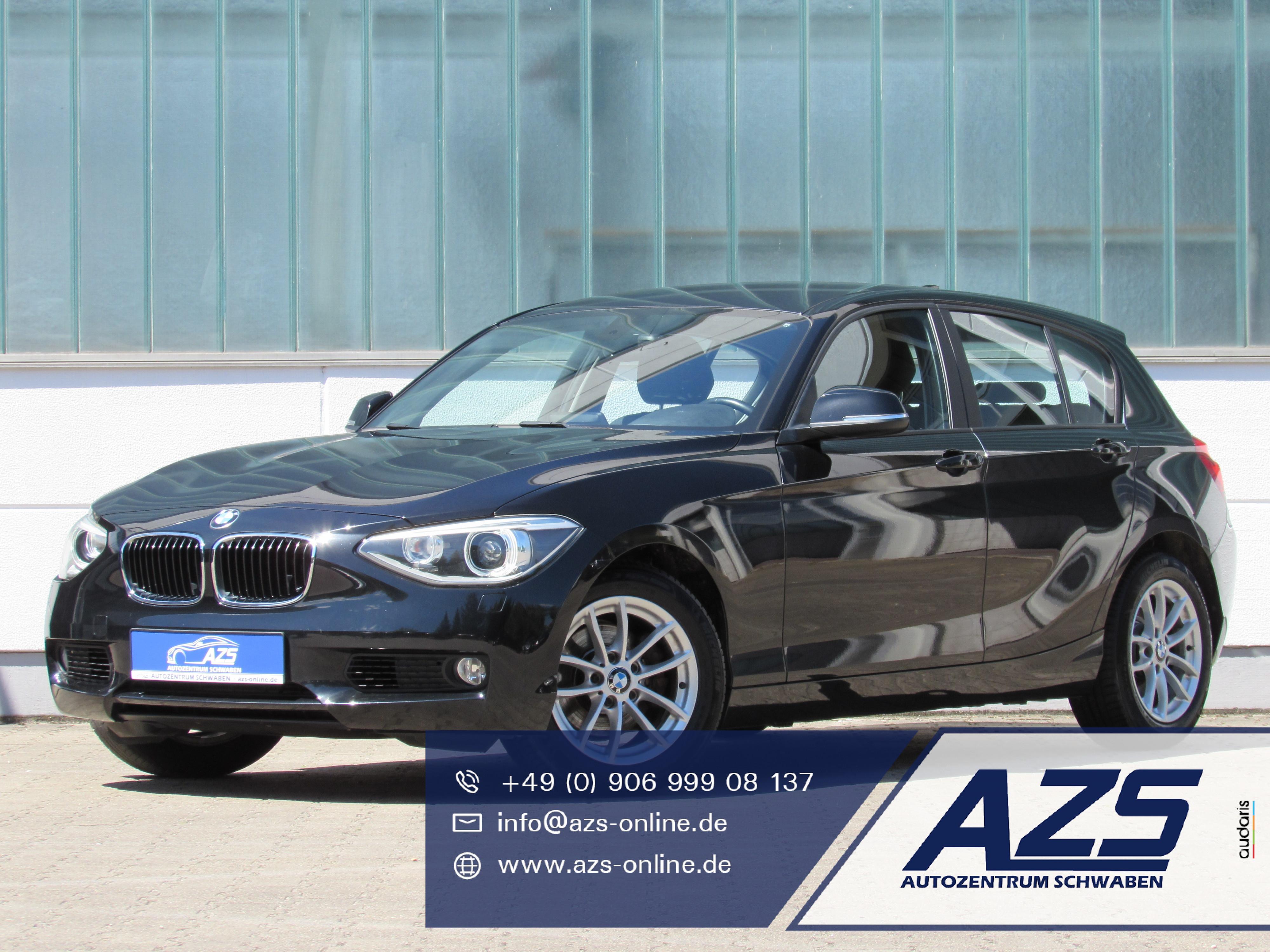 BMW 120d   Xenon   Klimaauto   LMF   AHK   1,99%  , Jahr 2013, Diesel
