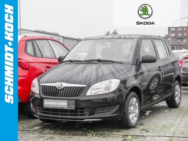 Skoda Fabia 1.2 Cool Edition Klima ZV Ganzjahresreifen, Jahr 2014, petrol