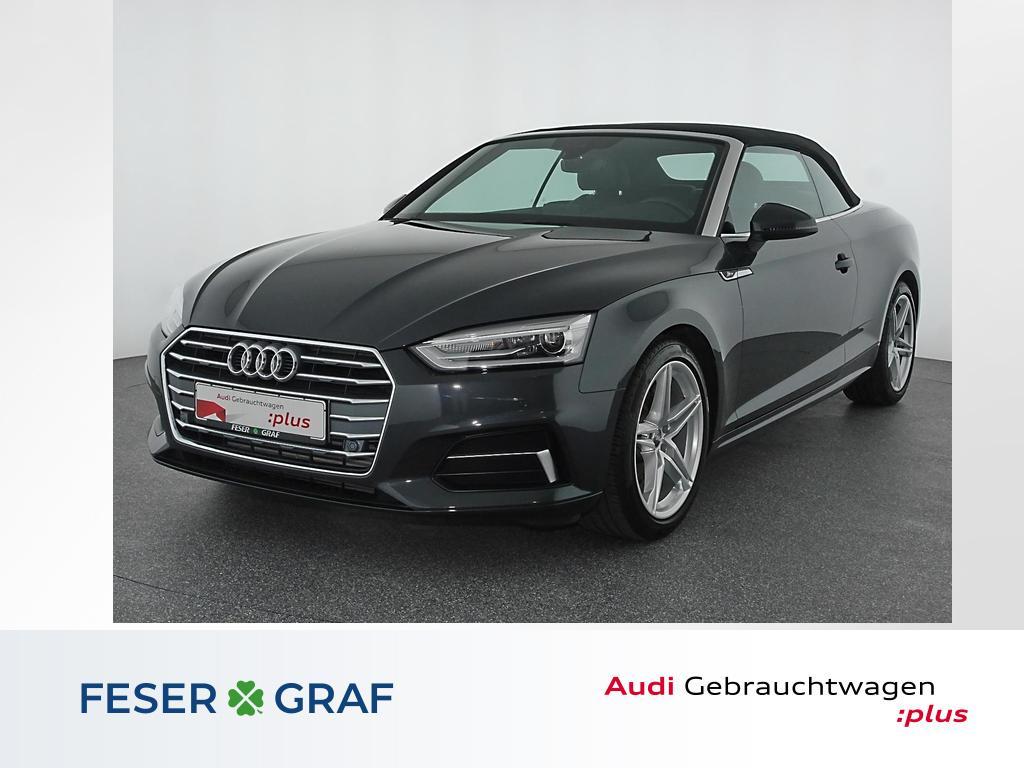 Audi A5 Cabriolet 2.0TFSI S Line Leder,Navi,Xenon,PDC, Jahr 2018, Benzin