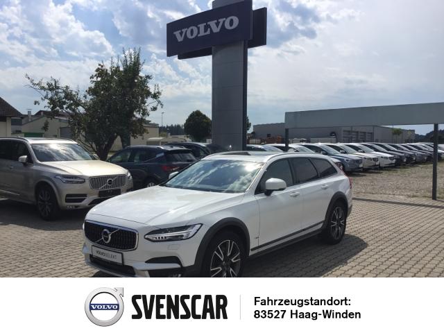 Volvo V90 Cross Country AWD D5 Leder LED Navi Kurvenlicht e-Sitze HUD Rückfahrkam. Allrad Fernlichtass., Jahr 2017, Diesel