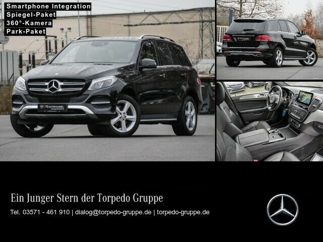 """Mercedes-Benz GLE 250d COMAND+LED+360°+PTS+SHZ+EASY-PACK+19""""LM, Jahr 2016, Diesel"""