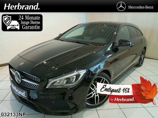 Mercedes-Benz CLA 200 Shooting Brake d AMG Line Night HarmanK, Jahr 2018, Diesel