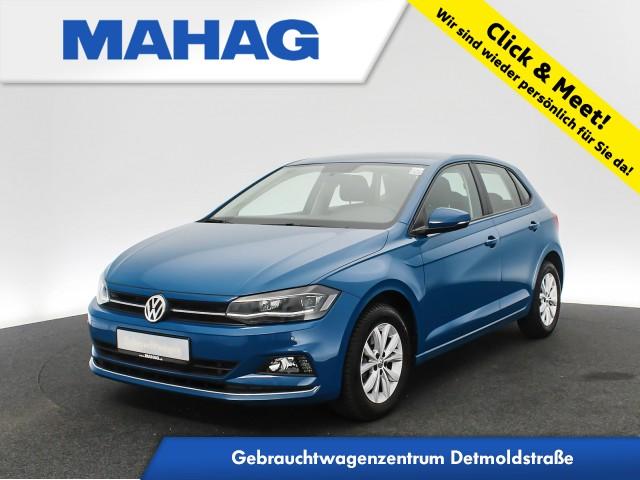 Volkswagen Polo 1.6 TDI Highline Navi LED Sitzhz. ParkPilot FrontAssist 15Zoll 5-Gang, Jahr 2018, Diesel