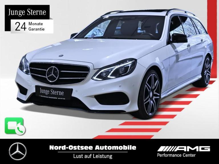 Mercedes-Benz E 400 T AMG line COMAND Kamera SD LED SHZ Keyles, Jahr 2015, Benzin