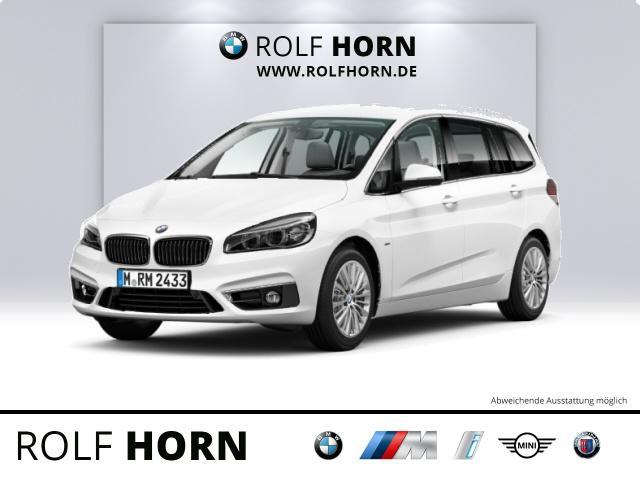 BMW 220 Gran Tourer Luxury Line Leder PDC LED Anhängerk. HiFi, Jahr 2018, Diesel