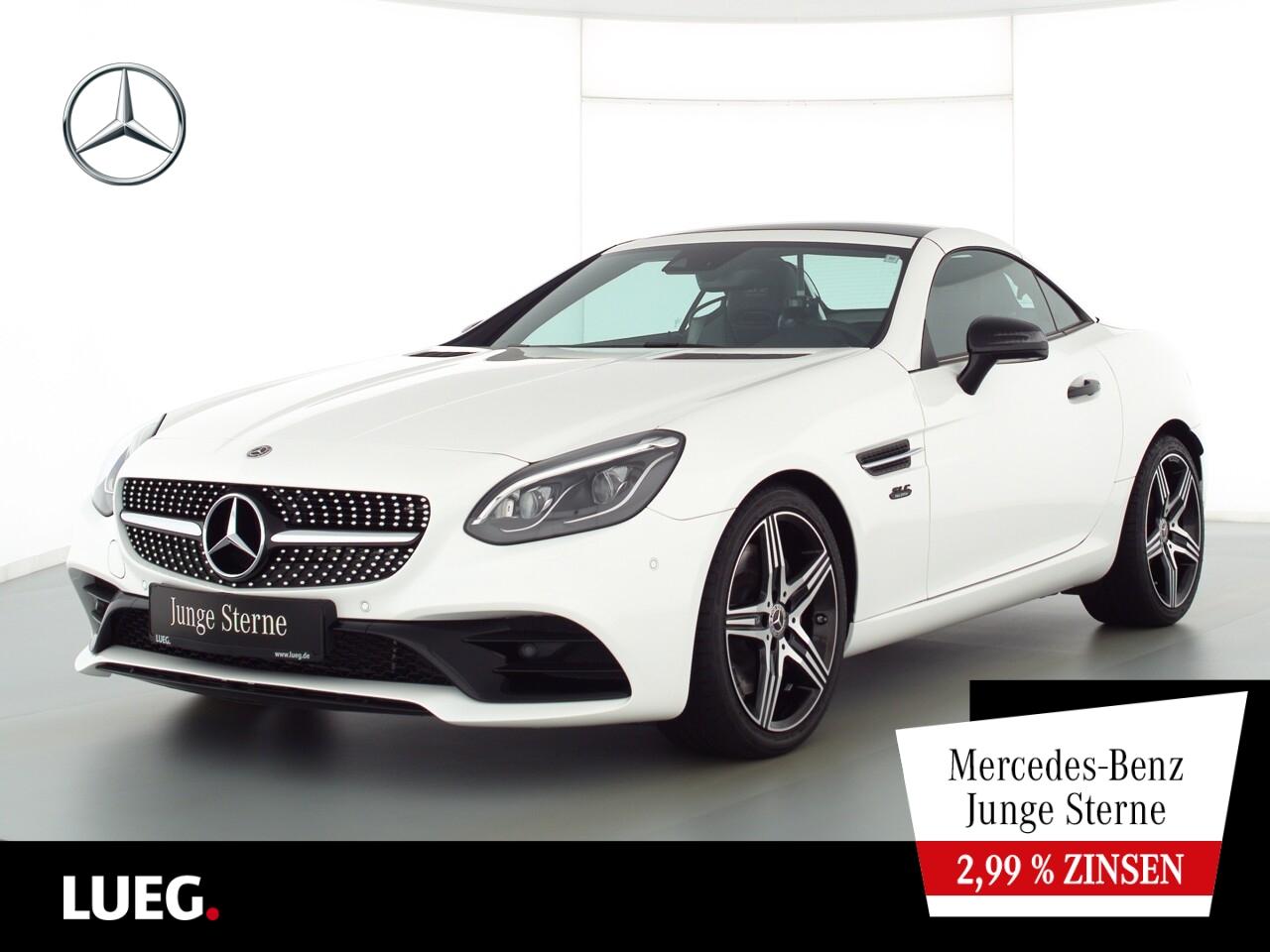 Mercedes-Benz SLC 300 AMG+COM+LED-ILS+AIRSC+Mem+SpurP+FINALEdt, Jahr 2020, Benzin