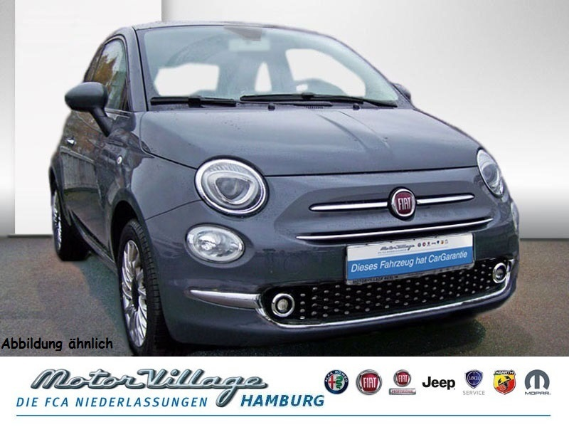 Fiat 500 1.2 8V Lounge 51kW (69PS) E6D, Jahr 2018, Benzin