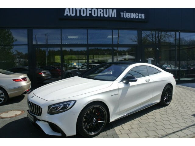 Mercedes-Benz S 63 4MATIC+ Coupe *NIGHT PAKET*Drivers Package*, Jahr 2019, Benzin