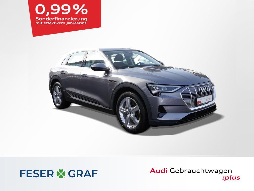 Audi e-tron 50 quattro Luft/ACC/Virtual/Kamera/AHK, Jahr 2020, Elektro