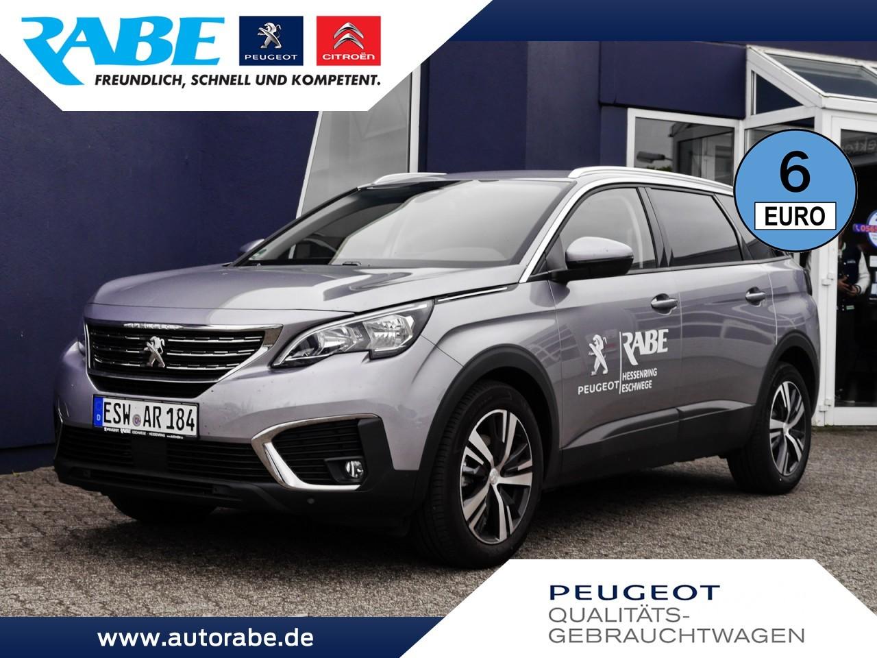 Peugeot 5008 Active+ 130 Sitzheizung+Navi+Klima+Kamera, Jahr 2018, Benzin