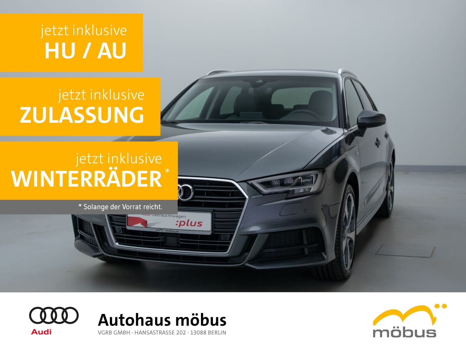 Audi A3 Sportback 2.0 TFSI sport QU*SLINE*ASSIST*B&O, Jahr 2018, Benzin
