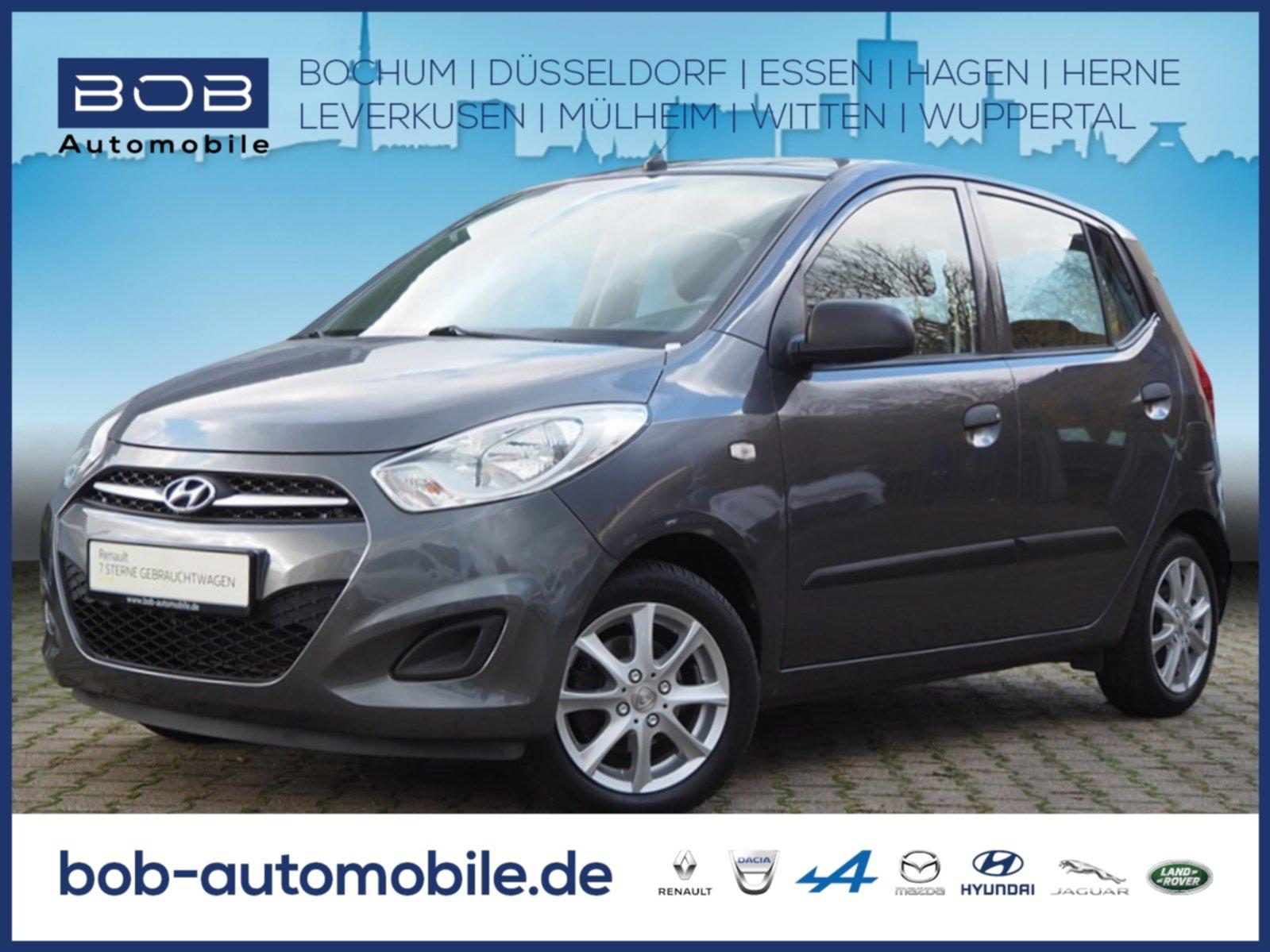Hyundai i10 5 Star Edition KLIMA ZV SERVO eFH ABS ALU, Jahr 2013, Benzin