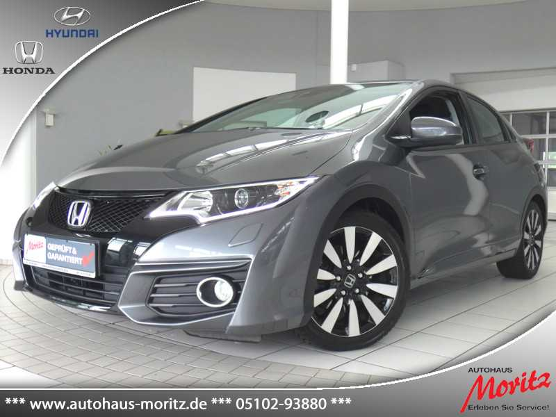 Honda Civic 1.4 Elegance *NAVI*WENIG KM!*, Jahr 2015, Benzin
