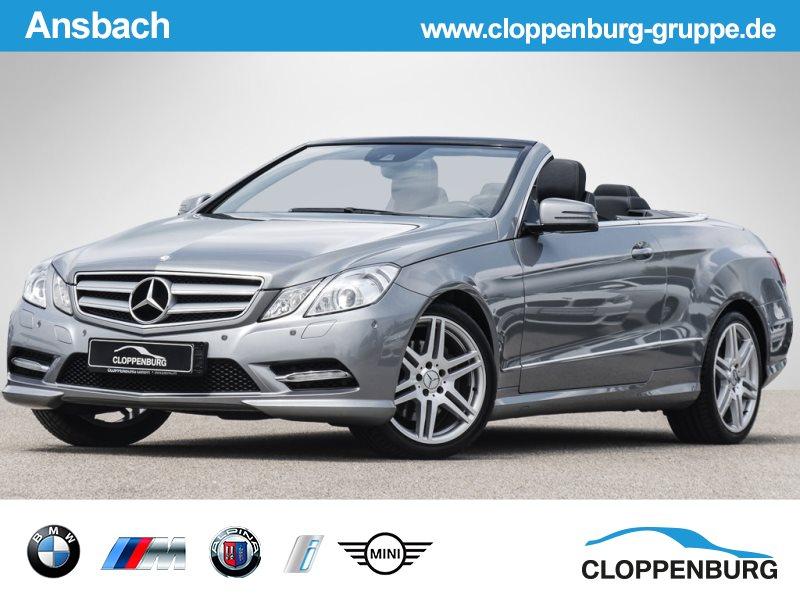 Mercedes-Benz E 250 CDI DPF Cabrio BlueEFFICIENCY 7G-TRONIC Elegance, Jahr 2012, Diesel
