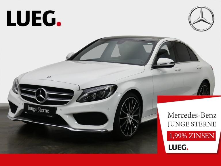Mercedes-Benz C 180 d AMG+Navi+Pano+LED-HP+19''+SHZ+ParkAssist, Jahr 2016, Diesel