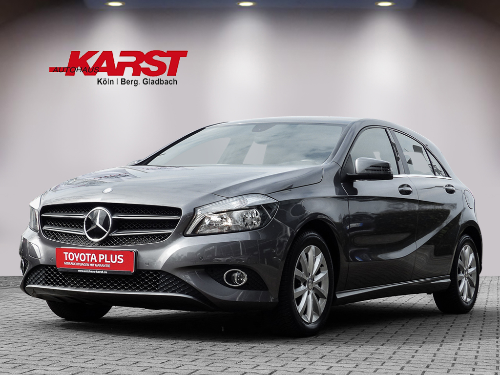 Mercedes-Benz A180 Style 7G-DCT BlueEfficiency Navi*, PDC, Jahr 2014, Benzin