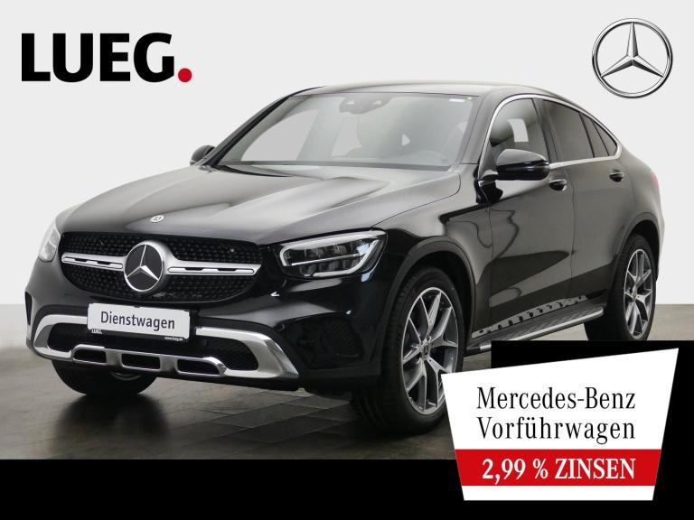 Mercedes-Benz GLC 200 d 4M Coupé EXCLUSIVE+AMG-20''+KAMERA+LED, Jahr 2020, Diesel