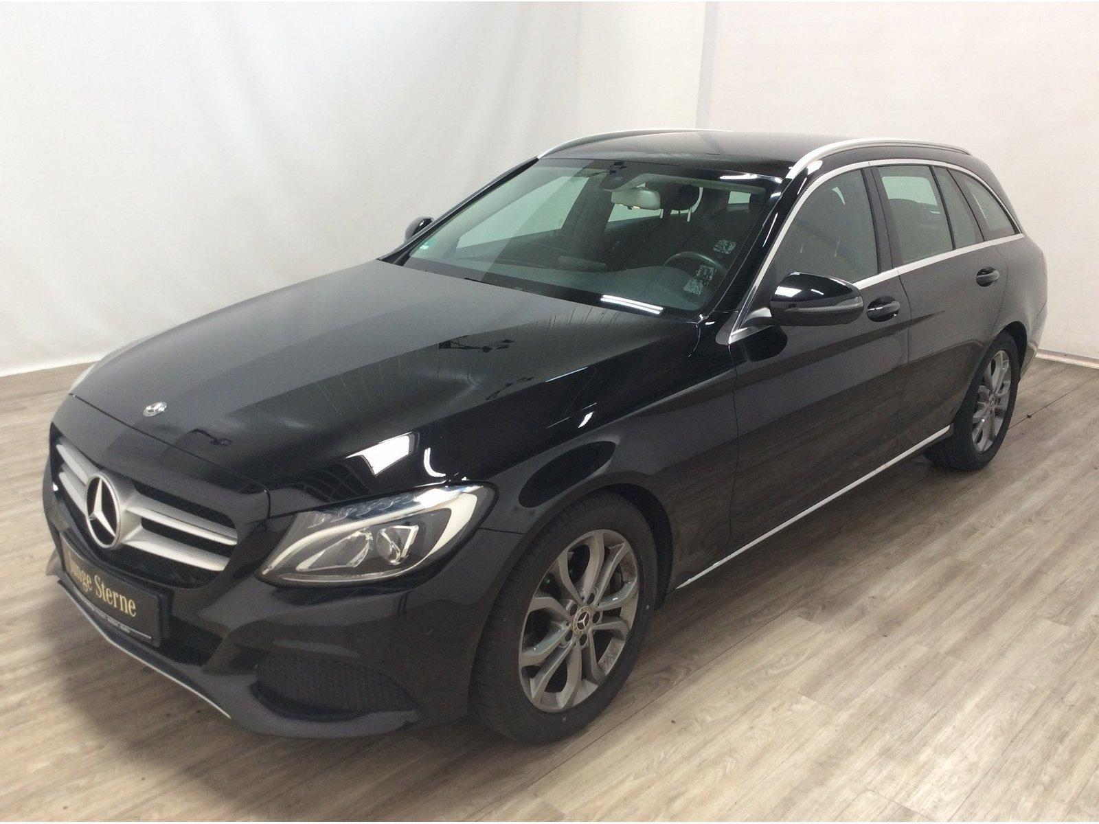 Mercedes-Benz C 200 d T *Avantgarde* *Automatik*LED*AHK*Navi*, Jahr 2017, Diesel