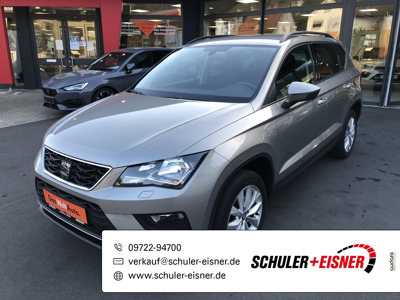 Seat Ateca Style 1.6TDI Ecomotive 85kW SHZ*NAVI*EPH, Jahr 2017, Diesel