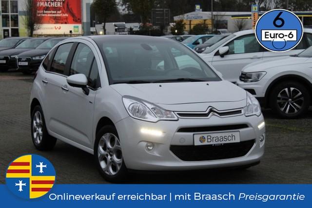 Citroën C3 Exclusive 1.2 e-VTi Klimaaut.,SHZ,PDC, Jahr 2015, Benzin