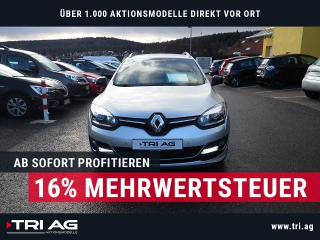 Renault Megane Grandtour Bose Navi Keyless Rückfahrkam. Fernlichtass. PDCv+h, Jahr 2014, Diesel