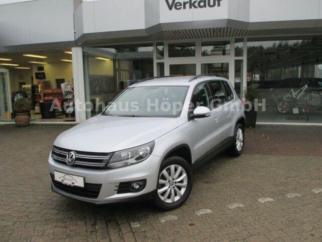 Volkswagen Tiguan Trend & Fun BMT, Jahr 2012, Benzin