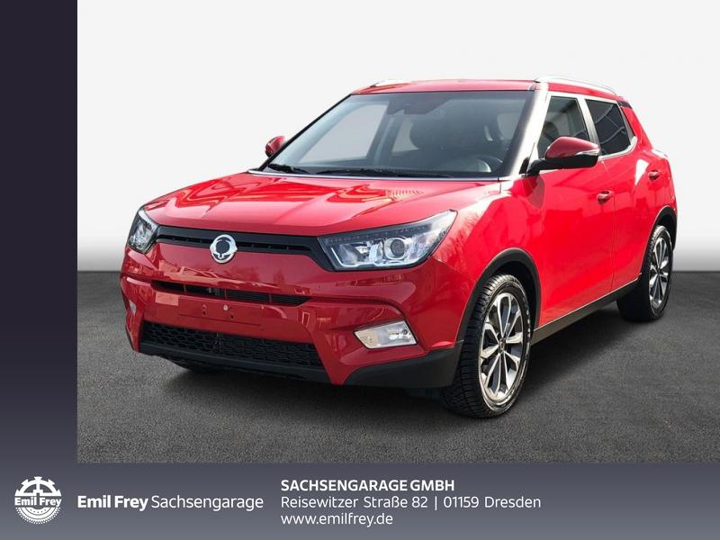 Ssangyong Tivoli e-XGi 160 2WD Quartz Klima RFC Allw., Jahr 2018, Benzin
