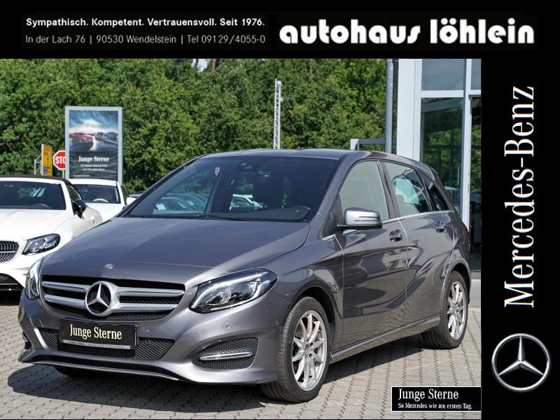 Mercedes-Benz B 200 LED+SOUNDSYSTEM+PDC+KLIMATRONIC Harman, Jahr 2016, Benzin