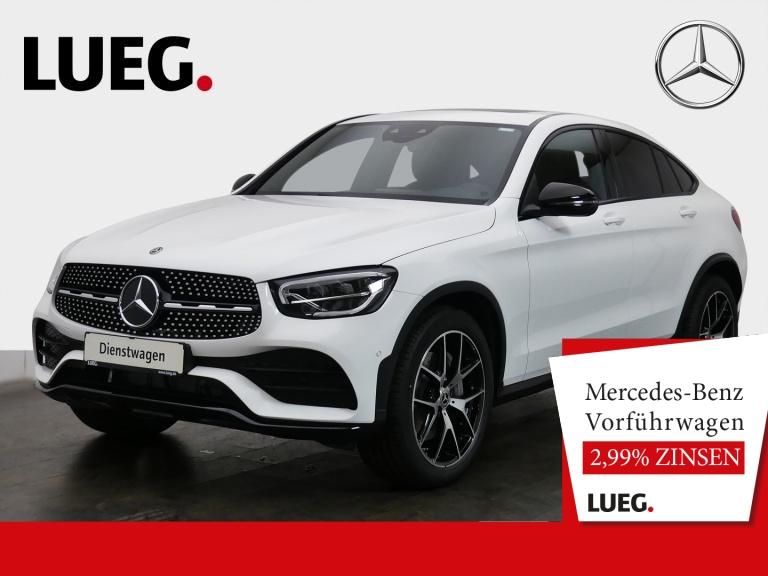 Mercedes-Benz GLC 200 4M Coupe AMG+20''+ASS-P+SD+AHK+SOUND+KAM, Jahr 2020, Benzin