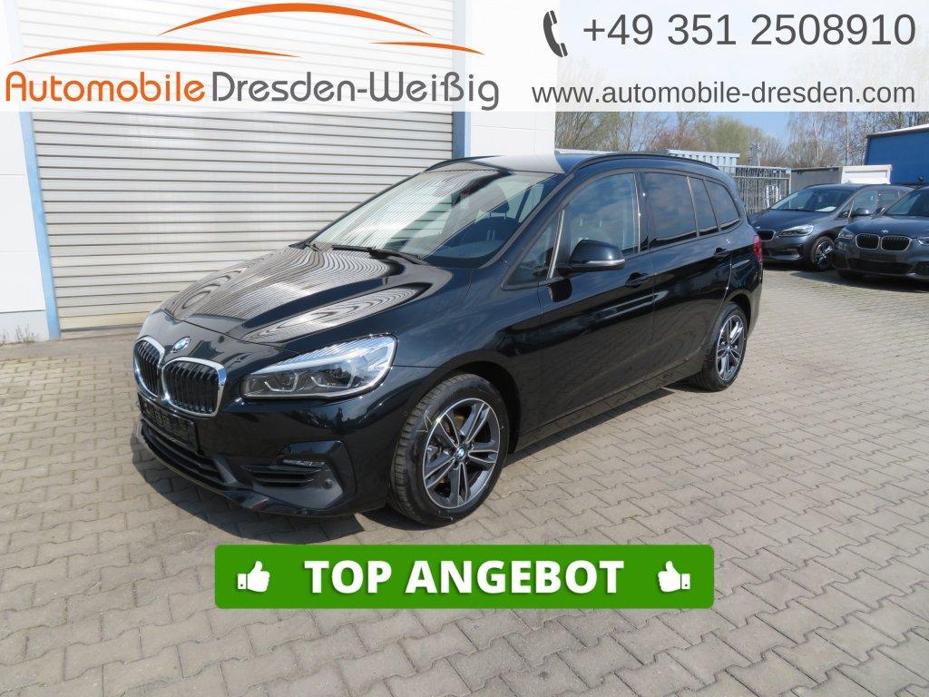 BMW 216 Gran Tourer i Sport Line*Navi*UPE 40.170€, Jahr 2019, Benzin