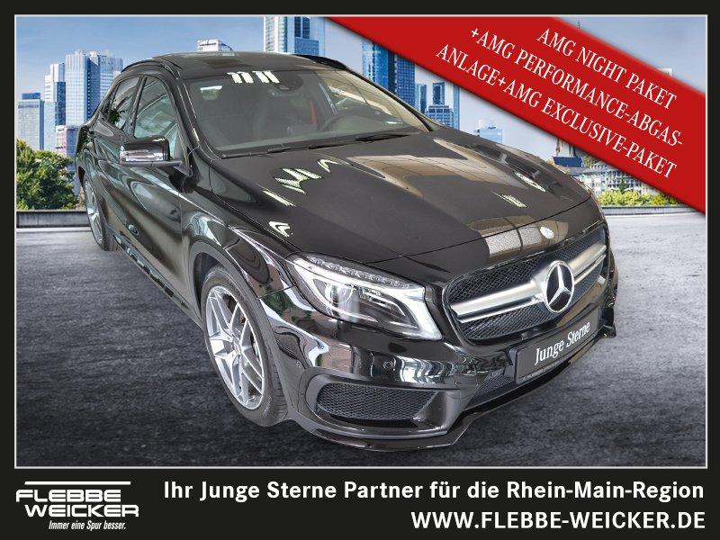Mercedes-Benz GLA 45 AMG 4Matic Panorma/Cam/Memory/SpurP./ILS, Jahr 2014, petrol