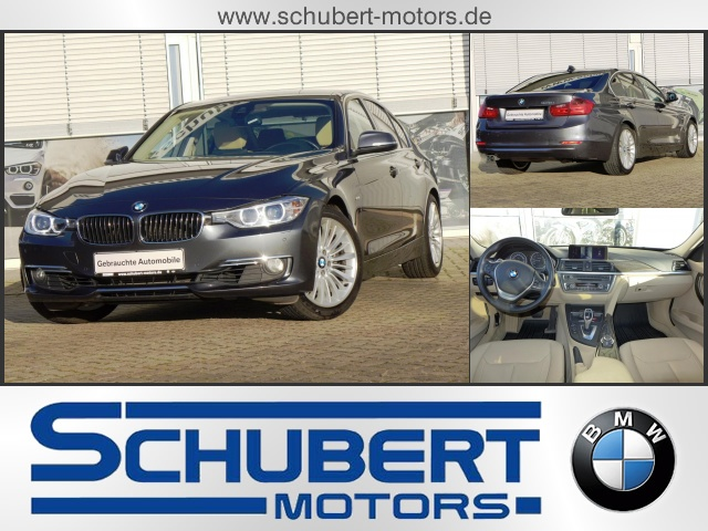 BMW 328i Limousine Luxury Line HUD Parkassist Surround, Jahr 2012, petrol