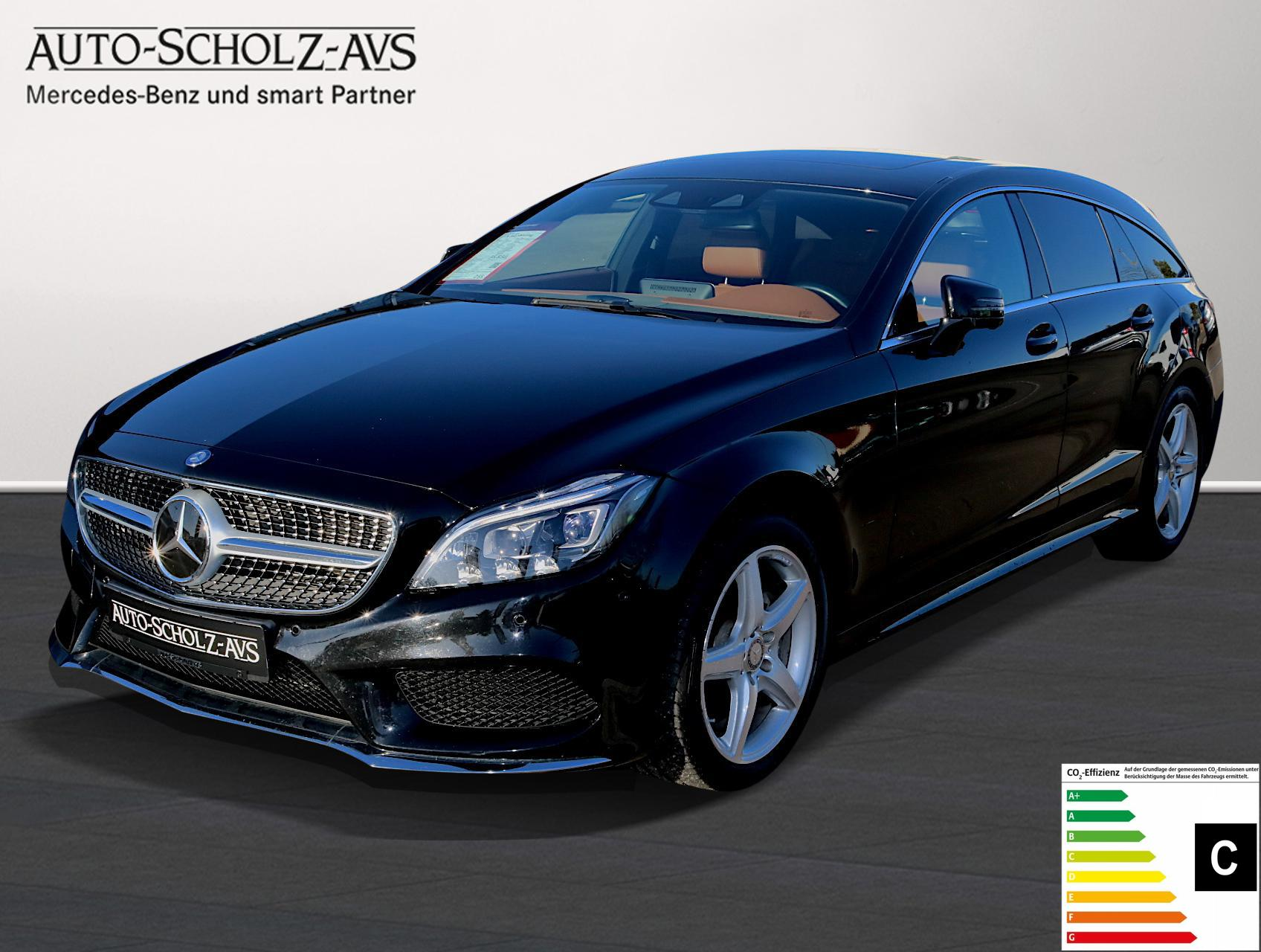 Mercedes-Benz CLS 350 Shooting Brake BlueTEC 4MATIC*AMG*LED, Jahr 2015, Diesel