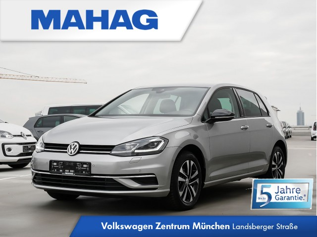 "Volkswagen Golf VII IQ.DRIVE 1.5 TSI 6-Gang - Navigationssystem ""Discover Media"" - LED-Scheinwerfer - ""Blind Spot""-Sensor ""Plus"" mit Ausparkassistent, inkl. Spurhalteassistent - ""Park Assist"" inkl. Einparkhilfe - ""Air Care Climatronic"" mit 2-Zonen, Jahr 2019, petrol"