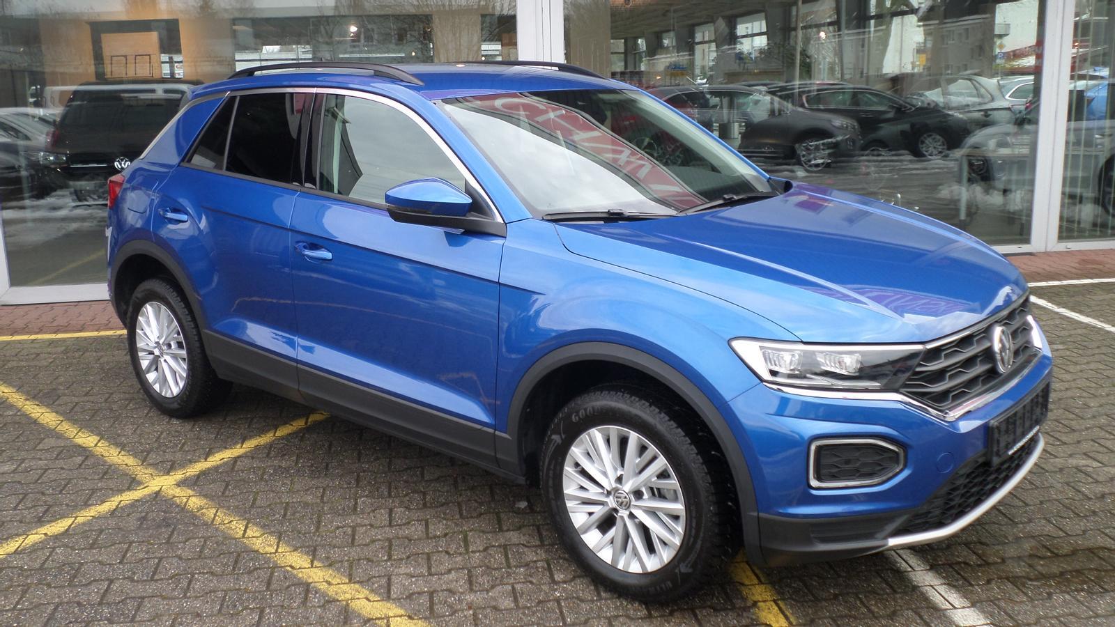Volkswagen T-Roc DSG 1.5 16V TSI el. Heckklappe Kamera LED, Jahr 2019, Benzin