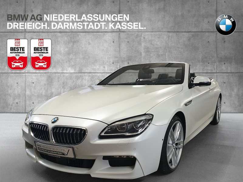 BMW 650i Cabrio Sportpaket Night Vision Head-Up LED, Jahr 2015, Benzin